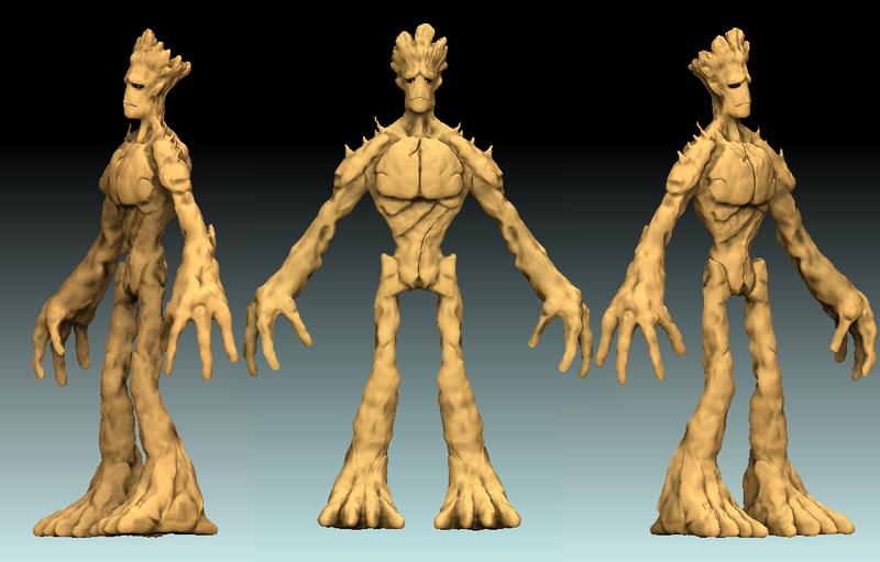 Dark Project Works Pictures - ZBrush Sculpts